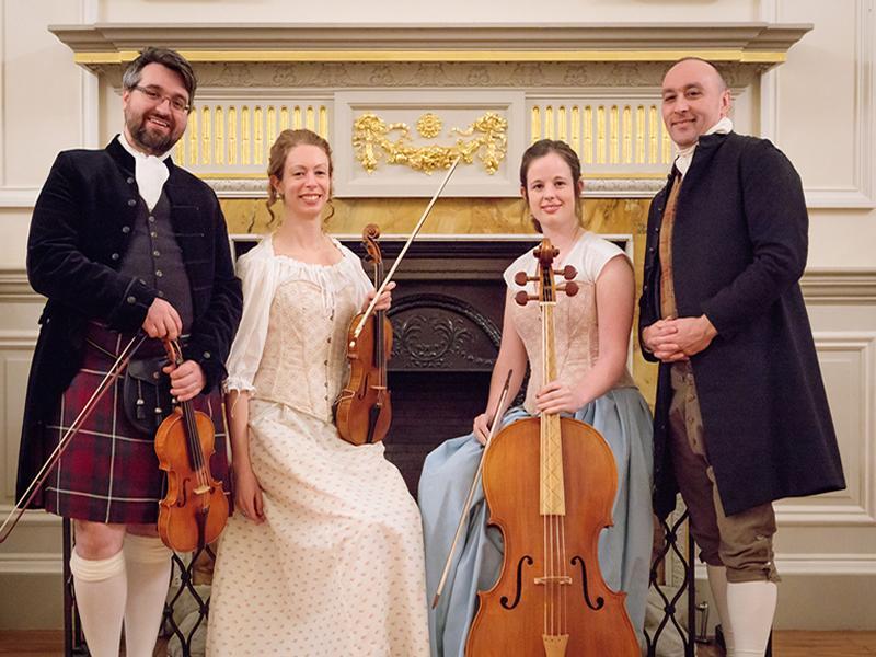 Georgian Concert Society presents Concerto Caledonia