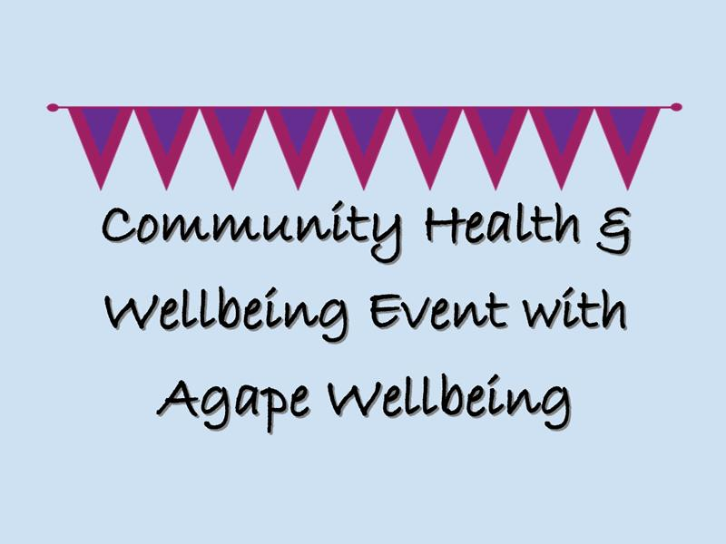Community Health & Wellbeing Event