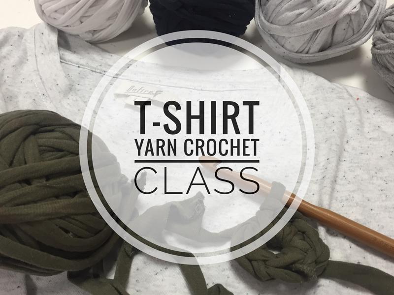 T-Shirt Yarn Crochet Class