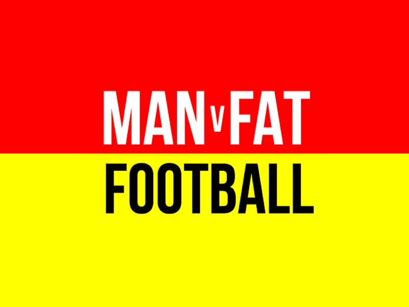 Man v Fat Football Glasgow