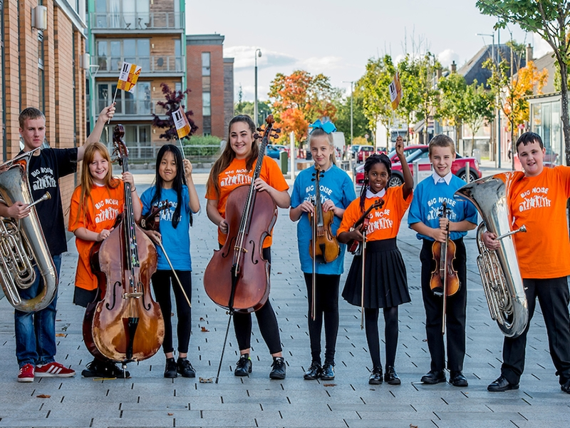 Performers Prepare for First Heritage Festival in Stirling