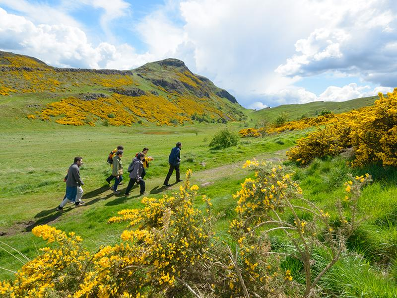 Language and Landscape: Holyrood Park - CANCELLED