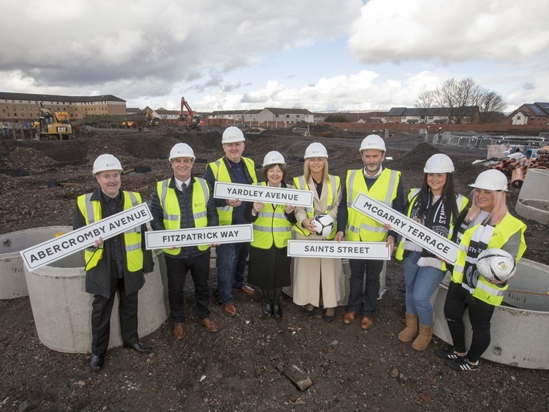 St Mirren stars immortalised at former Love Street stadium