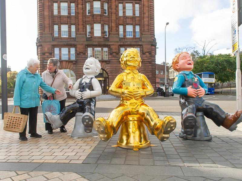 Oor Wullie's BIG Bucket Trail Edinburgh