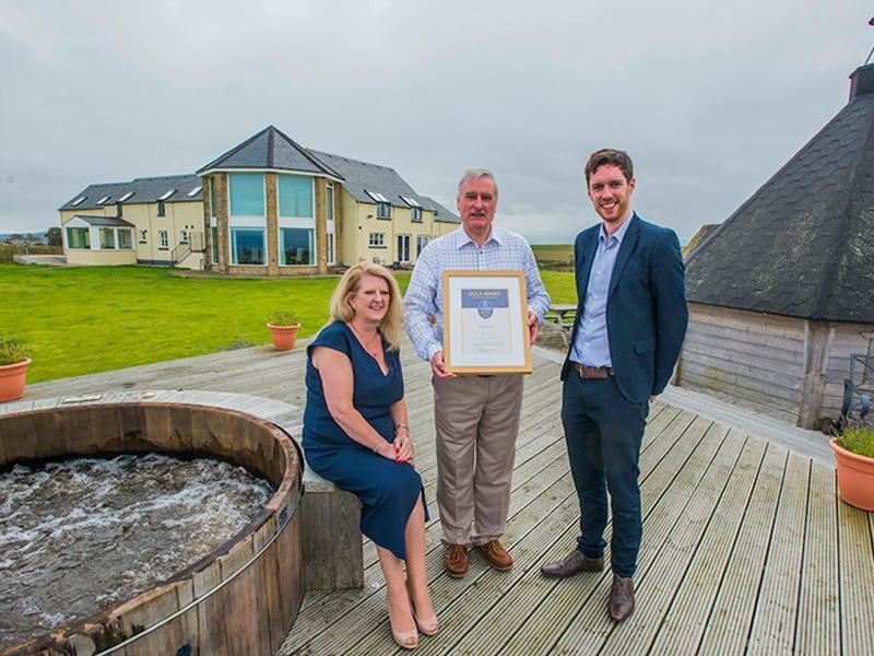 East Lothian Hotel Celebrates 4 star Gold Award