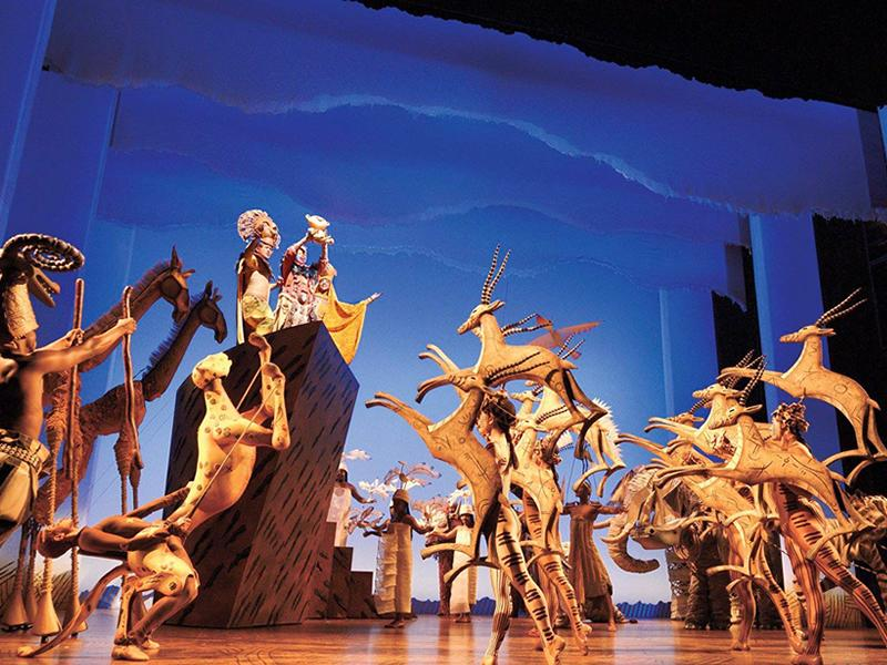 Season extended for The Lion King at the Edinburgh Playhouse
