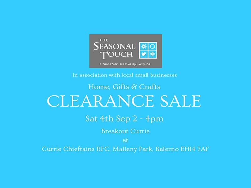 Home, Gifts and Crafts Clearance Sale