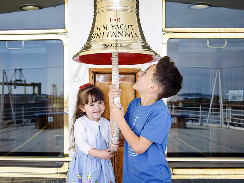 Make memories aboard The Royal Yacht Britannia