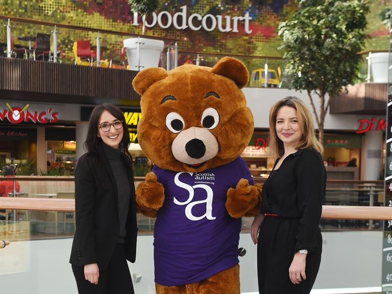 Autism campaign puts St. Enoch Centre in the running for prestigious European award