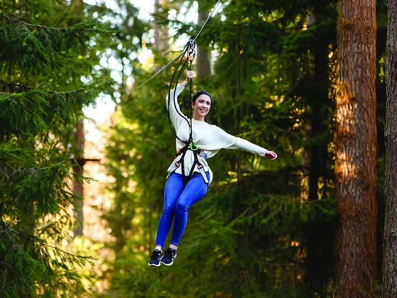 Explore the outdoors and Go Ape this Summer in Scotland