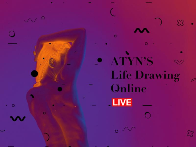 All the Young Nudes' Online Life Drawing Club