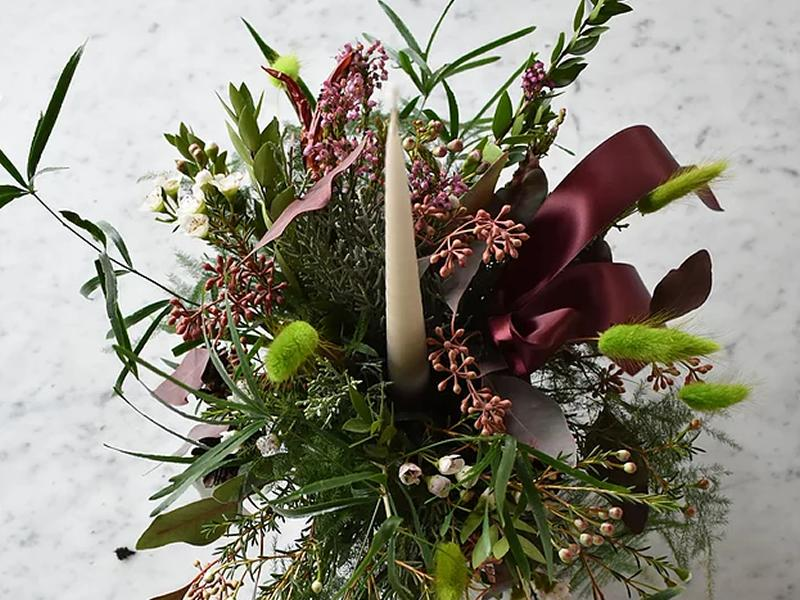 yuletide table: Festive Centrepiece Workshop