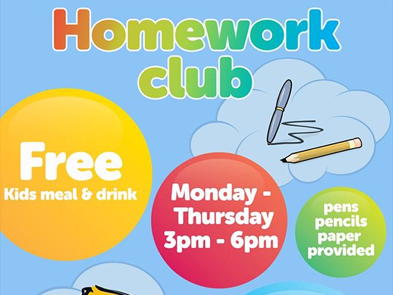Homework Club At Wonder World Soft Play Glasgow