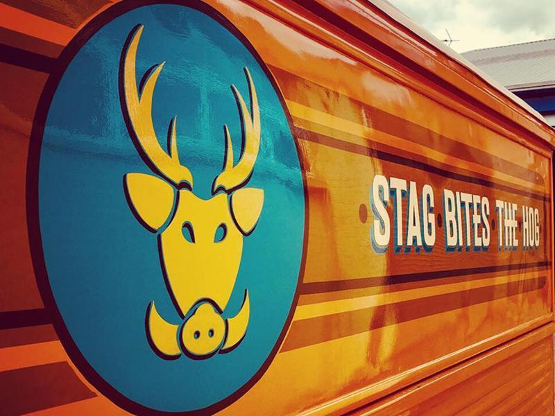 Stag Bites The Hog