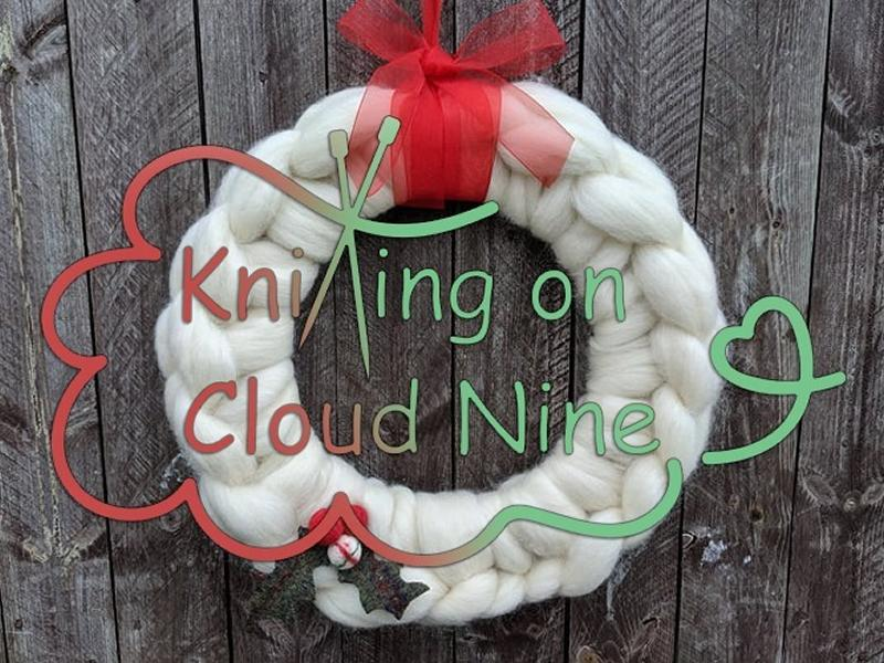 Christmas Wreath Making Workshop by Knitting on Cloud Nine