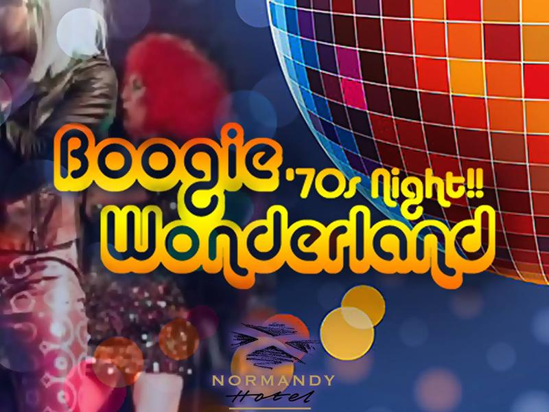 70's Boogie Night Live - CANCELLED