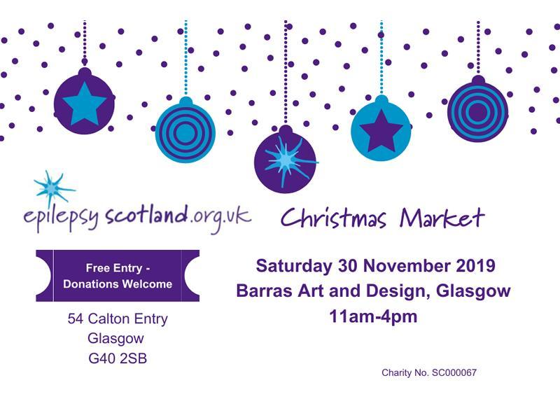 Epilepsy Scotland Christmas Market