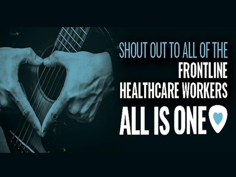 Hard Rock Cafe Edinburgh to say Thank You to Frontline Workers