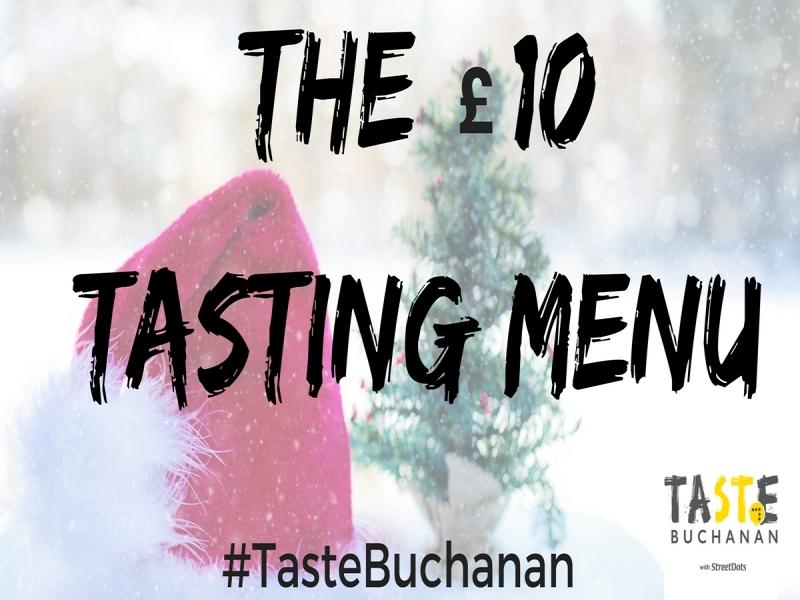 £10 Tasting Menu: Christmas Edition