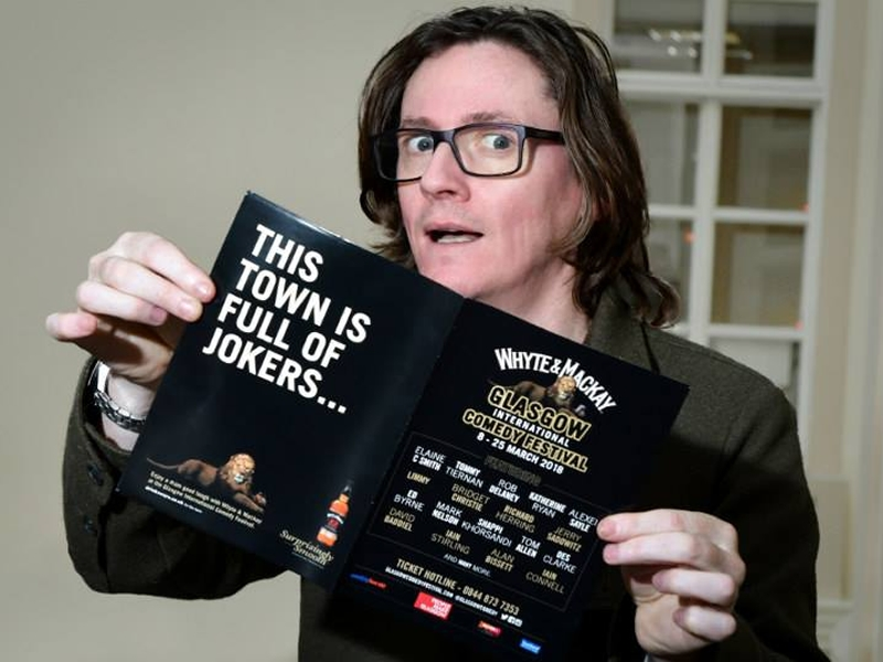 Whyte & Mackay Glasgow International Comedy Festival Announces 2018 Programme