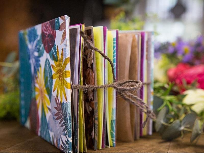 Bookbinding and Botanicals
