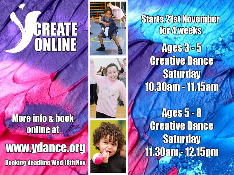 YCreate Online - Creative Dance Classes For Ages 3 - 8