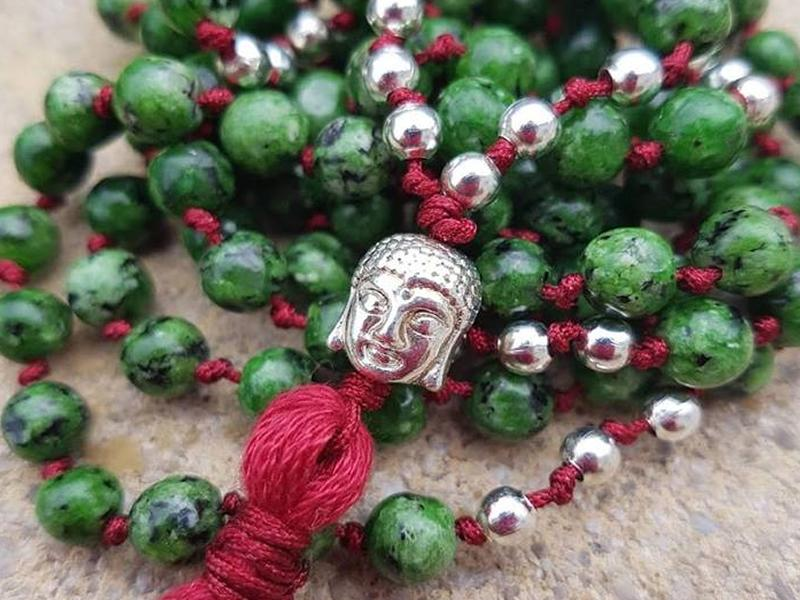 Meditation and Mala Bead Necklace Workshop