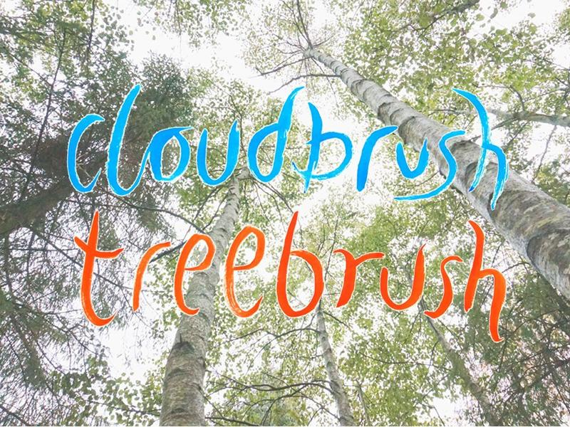 Cloudbrush, Treebrush - Japanese calligraphy day retreat with Margaret Kerr and Blair Thomson