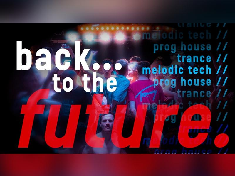 Back to the Future: 90s Trance Club Night