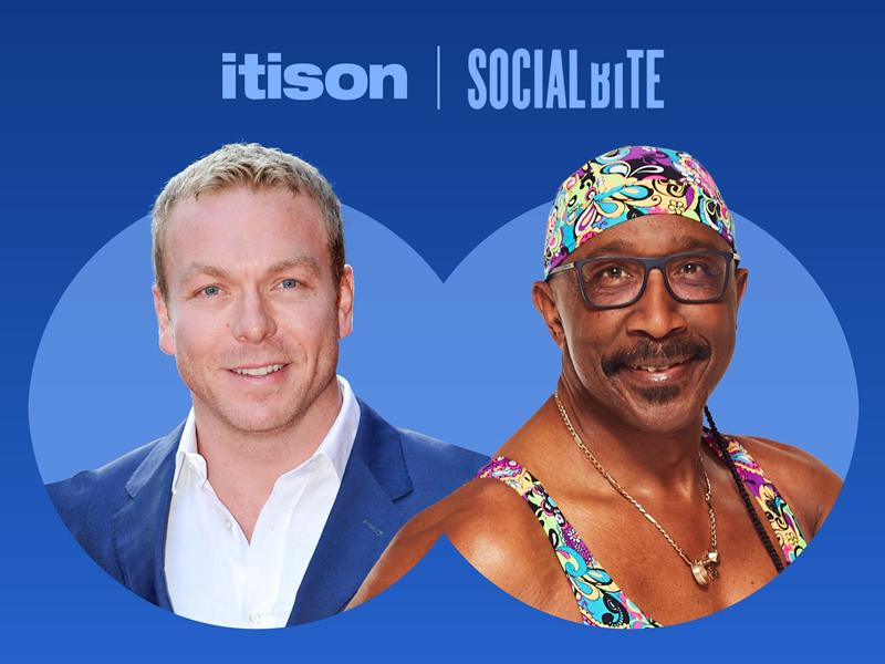 itison give the chance to win a VIP Olympic experience with Sir Chris Hoy to raise funds for Social Bite