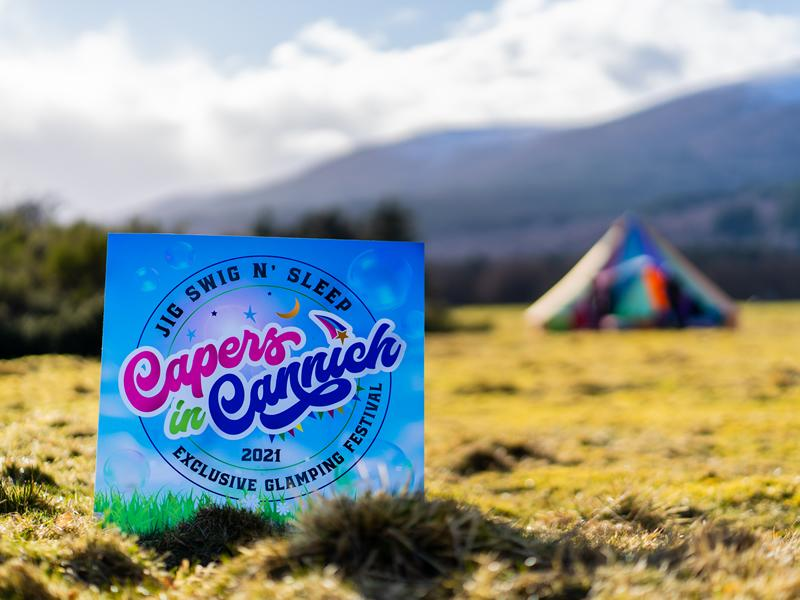 Seven more summer dates announced for exclusive outdoor glamping festival Capers in Cannich