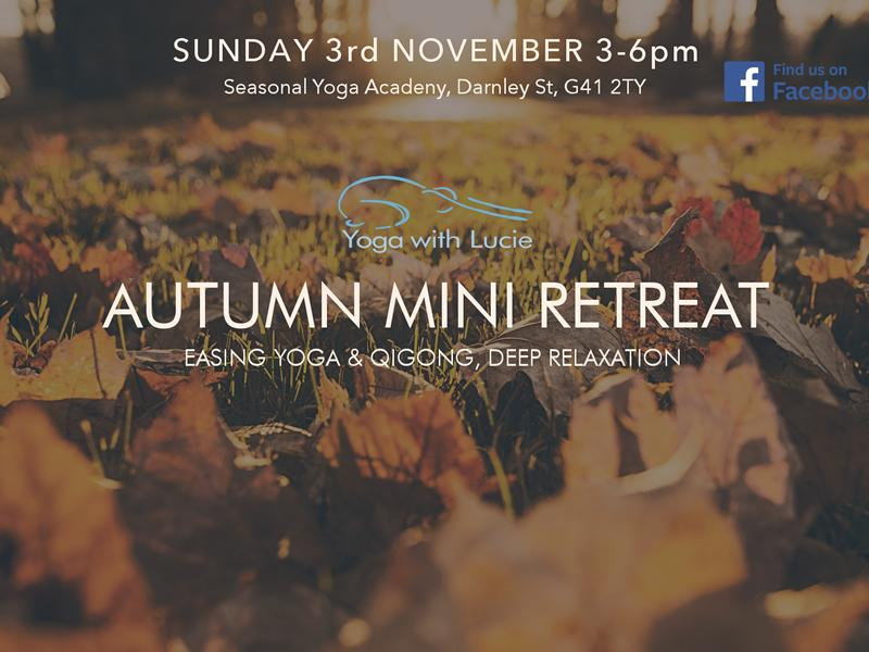 Autumn Mini Retreat