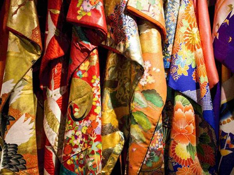 Dance of the Flowing Kimono