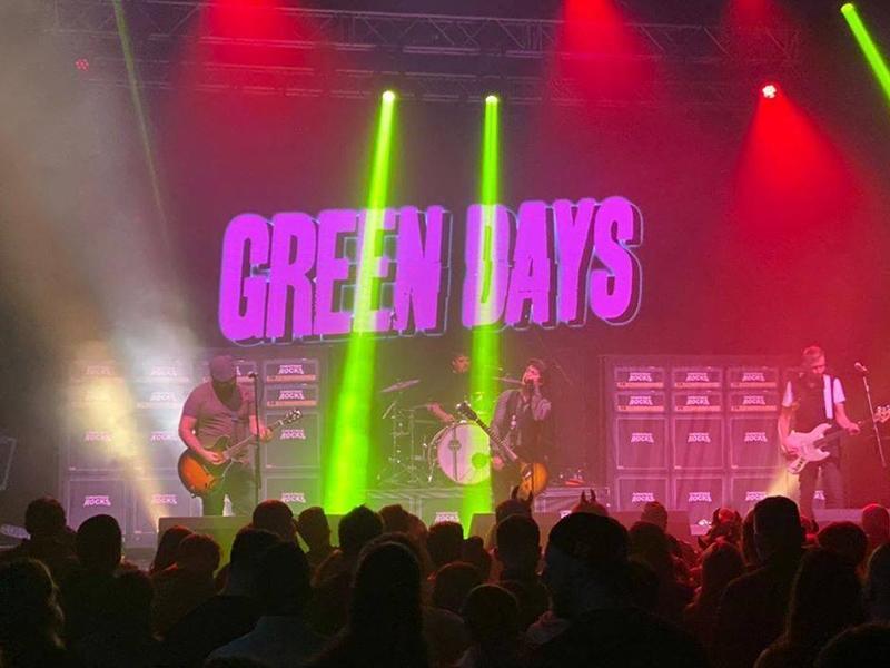 Green Days + Urgency X UK