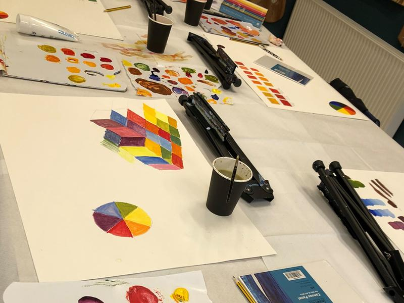 Introduction to Colour Theory with Blaeberry River Art