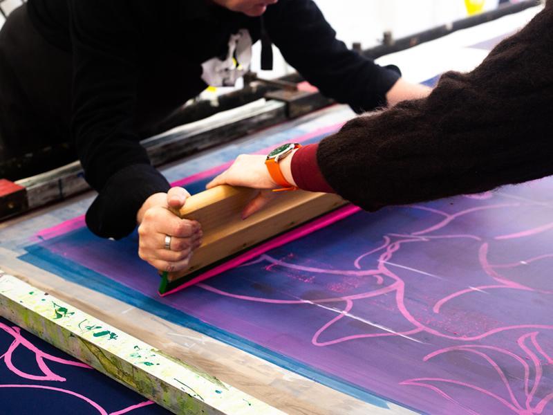 Intermediate Textile Printing Course