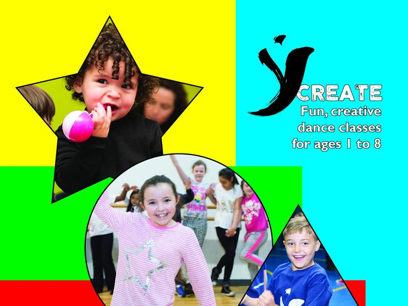 YCreate - Creative Dance Classes For Ages 1 - 8