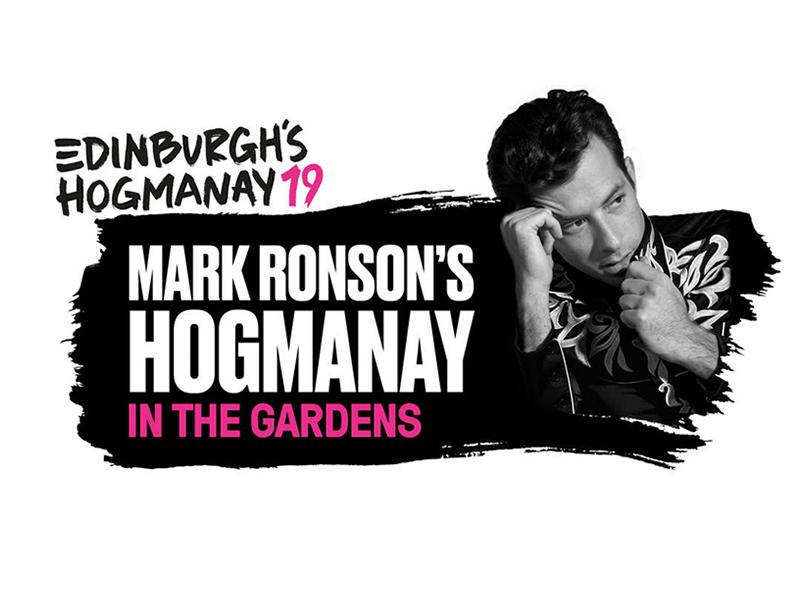 Mark Ronson's Hogmanay in the Gardens