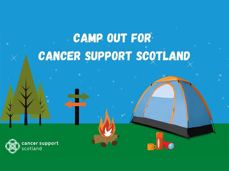 Camp Out for Cancer Support Scotland