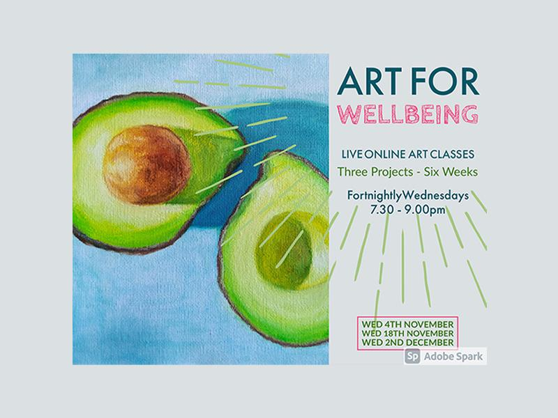 Art for Wellbeing - Online Course via Zoom