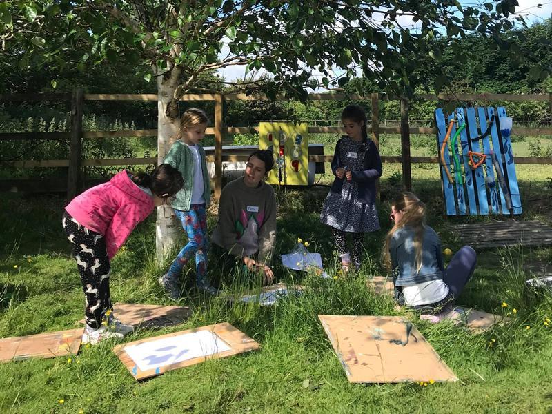 Outdoor Summer Art Camp!