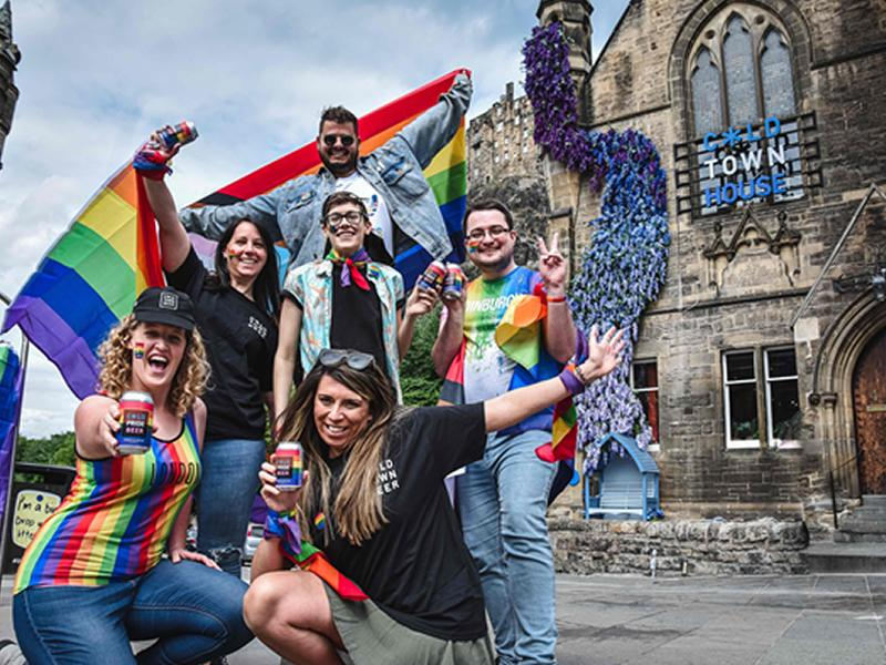 Edinburgh brewery takes Pride in new product launch