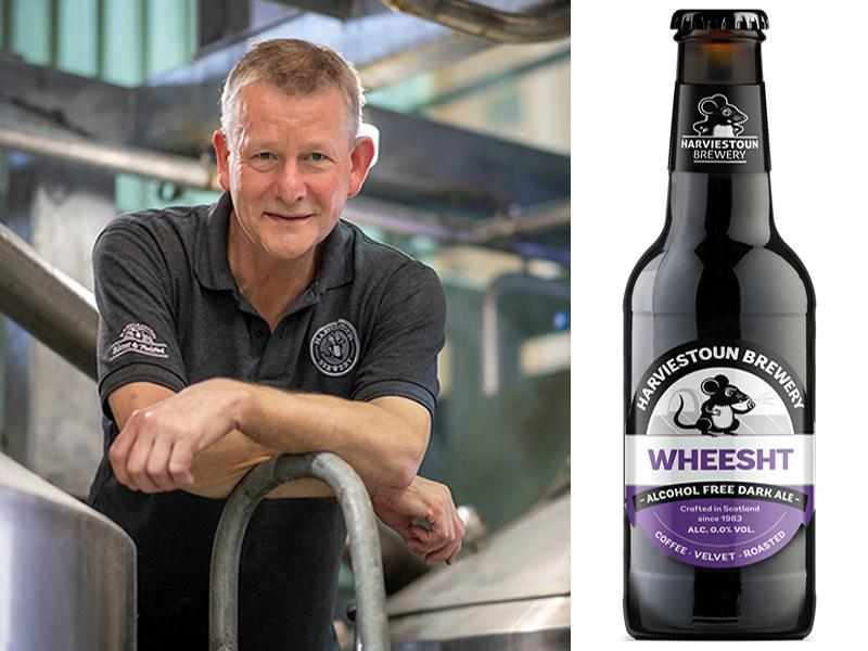 Take the Dry January challenge with the first alcohol free dark ale in Scotland