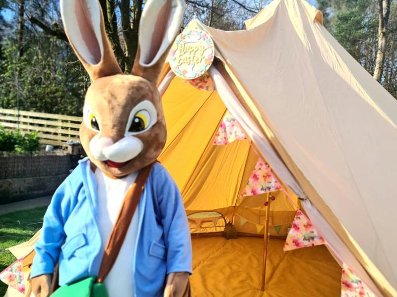 Peter Rabbit Easter Egg Delivery!