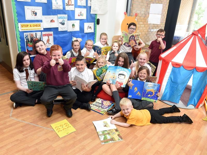 Castleton Primary pupils benefit from storytelling bursary