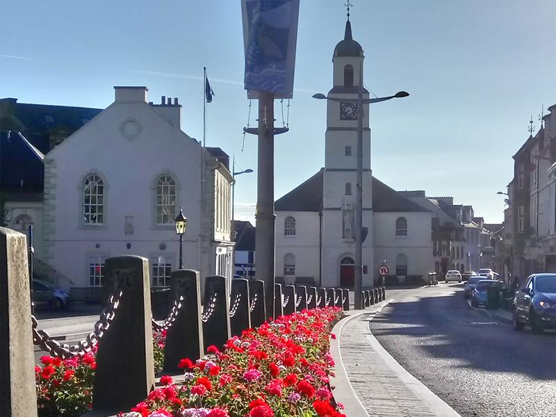 Lanark shortlisted for the online vote to crown most beautiful high street