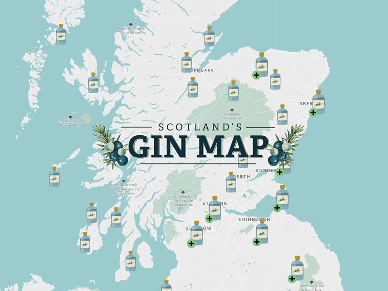 VisitScotland launches GINTERACTIVE map