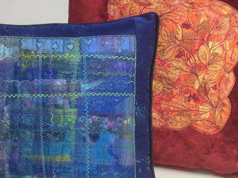 Scrappy Cushion Textile Upcycling Workshop