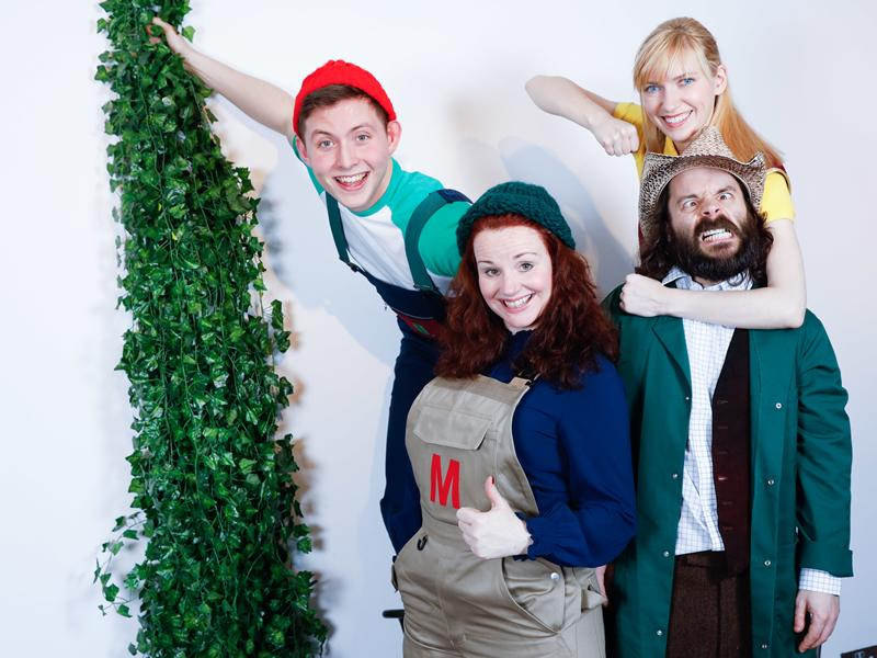 Eastwood Park Theatre is ready for the return of the beanstalk!