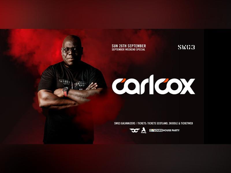 Carl Cox September Weekend Special